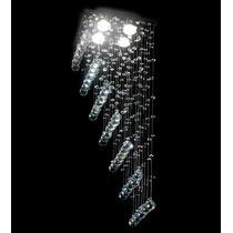 Lustre Plafon Cristal Iluminacao Escada Led Qu004/30-rmp Dna