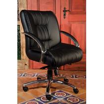 Cadeira Poltrona Giratória Com Relax Super Estofada