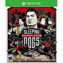 Sleeping Dogs Defenition Edition Original Xbox One Digital