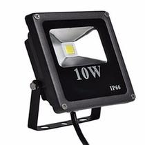 Refletor Holofote De Led 10watts Real Ip 65 Bivolt 900lm
