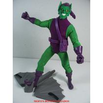 Duende Verde 22cm Frete Free Marvel Hasbro 2006 Roupa Pano