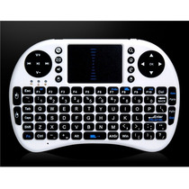 Mini Teclado Wireless 2.4ghz Mouse Touchpad Pilha Aaa