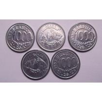 Moedas 1000 Cruzeiros - 1993 - Lote Com 5 Moedas