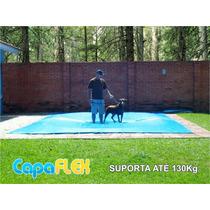 Capa De Piscina 7,5m X 4m Lona Proteção Cobertura