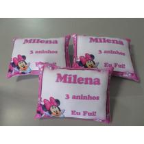 50 Almofadas Personalizadas Lembrancinha Aniversário Minnie