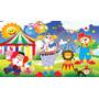 Painel De Festa Infantil 2,0x1,5 Circo E Outros Temas
