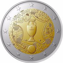 Moeda 2 Euros Eurocopa 2016