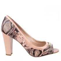 Sapato Peep Toe Morena Rosa 18000901491