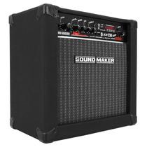 Caixa Som P/ Guitarra Amplificada Amplificadora Sound Maker