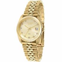 Relógio Technos Riviera 5 Atm Dourado 2115ef/4x