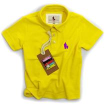 Camisa Polo/body Infantil Qualidade Importada Original Cor9