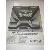 ( L 290/ G ) Propaganda Antiga Eternit
