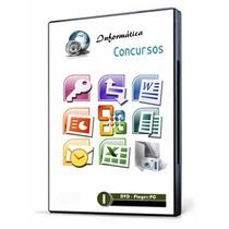 Curso 13 Dvds Informática Para Concursos Completo