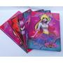 Caderno Brochurão Princesas Zumbis 96 Folhas Pacote C/ 5 Und