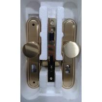 Fechadura Pado Externa Porta De Madeira 55mm Latão Dourada