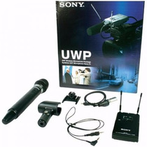 Microfone Para Filmadora Wireless Sony Uwp-v2 42/44