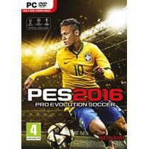 Pes 2016 Pc (frete Gratis) Português Pro Evolution Soccer