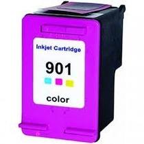 Cartucho Tinta Compatível/ Similar Hp 901 Colorido
