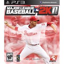 Jogo Major League Baseball 2k11 Da 2k Sports P/ Ps3 Original