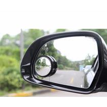 2 Espelhinhos Retrovisor Auxiliar Convexo Cromado