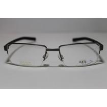 Armação Para Óculos De Grau Hb Cod 93400 New Gray Matte Navy