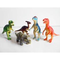 Lote 5 Bonecos Dinossauros Variados - Jurassic Park