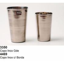 Kit 25 Copos Em Aço Inox 500ml Para Chopp Tereré Tudo
