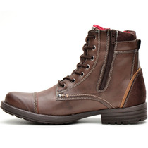 Bota Coturno Masculino Sapato Casual Palmilha Gel Exclusivo