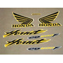 Kit Adesivo Honda Cb600 Hornet 2006 Amarela --frete R$9,90