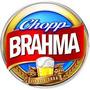 Kit Caixa C/ 25 Bolachas Apoio Copo Chopp Cerveja Brahma