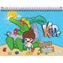 Caderno Aa Cartografia & Desenho Kids 40 Fls