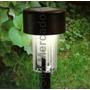 Luminária Com Lâmpada Led Iluminação De Jardim Energia Solar