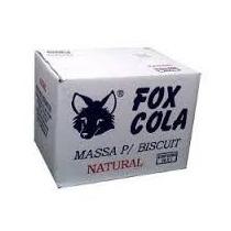 Cx Massa De Biscuit Fox Natural 20kg / Contém 20un Promoção