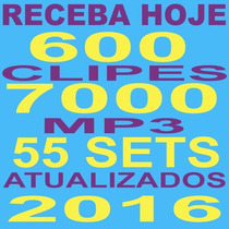 7000 Músicas Festas Dj Vj + 600 Video Clipes Receba Hoje!