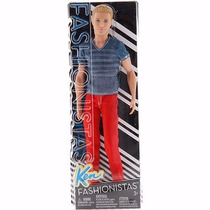 Barbie Fashionistas Ken Bcn42/cfg19 - Mattel