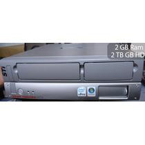 Cpu Semp Toshiba Cs5064 Core 2 Duo 2 Gb Ram 2 Teras De Hd