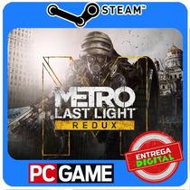 Metro: Last Light Redux Pc Steam Cd-key Global