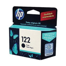 Cartucho Hp 122 Preto Original 1000 2000 2050 3050