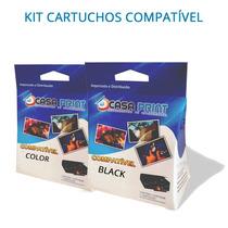 Kit Cartucho Epson 140 Compatível T140 Tx560 T42 Tx525 Tx620