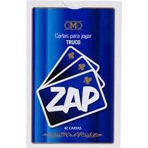 Truco - Baralho Especial Com 40 Cartas - Carteado Jogo Zap