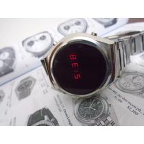 Relógio Orient Mascara Negra Led Antigo Anos 80 Perfeito