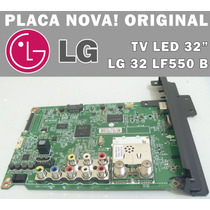 Placa Principal Sinal Lg Nova - Tvs 32 Lg Lf550 Eax66167204