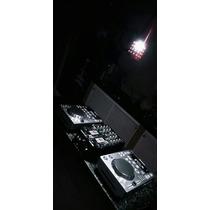 Par De Cdjs Pioneer 350 + Mixer Vmx200 + Fone Technics
