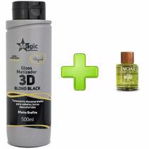 Magic Color 3d Gloss Matizador Blond Black + Oléo De Argan