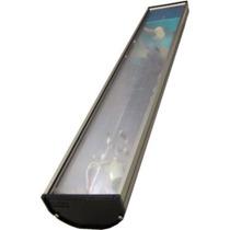 Calha Aluminio Espelha. 30w. S/lâmpada 119,5cm.luminári 220v