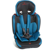Cadeira Para Auto Carro Astor Lx Preto E Azul - Galzerano