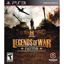 Game Ps3 History Legends Of War: Patton