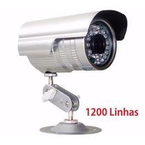 Câmera Profissional Infravermelho Ccd Sony 1000 Linhas Fonte