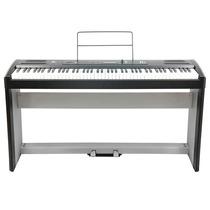 Piano Digital 88 Teclas Pesadas C/ Movel E Pedais Fenix Sp30
