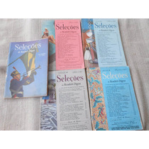 Revistas Seleções Anos 1950 Raras Lote Com 5 Compre Já